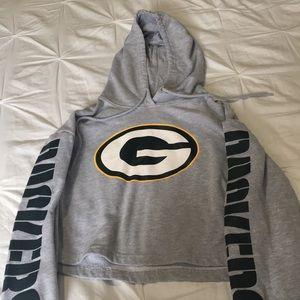 Green Bay Packers cropped sweatshirt